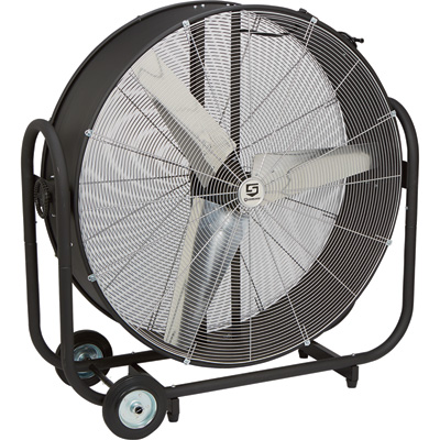 Strongway Tilting Direct Drive Drum Fans — 42in., 16,500 CFM, 1/2 HP