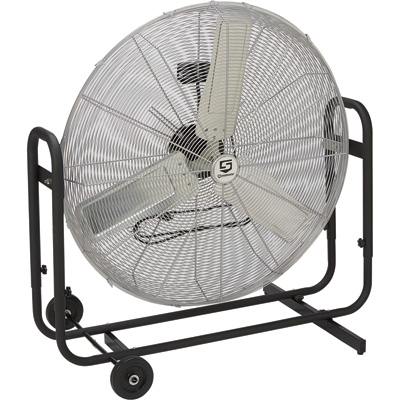 Strongway Direct Drive Commercial Circulator Fan — 36in. Dia, 1/3 HP, 12,000 CFM