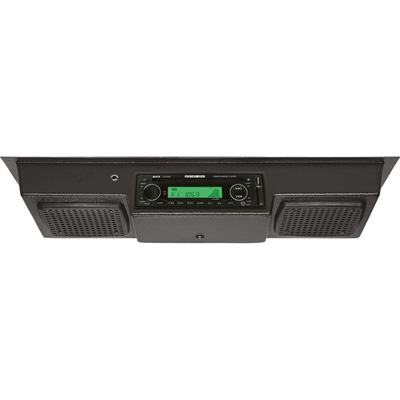 REI Two-Speaker Roof-Mount AM/FM Radio with CD Player, MP3 and Weatherband — Model# REC-2-CD3000