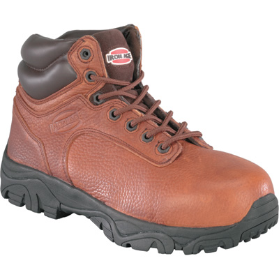 Iron Age Men's 6in. Composite Toe EH Work Boots - Brown, Size 6 Wide, Model# IA5002