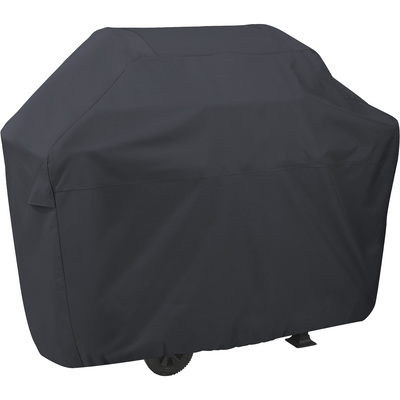 Classic Accessories Grill Cover — XXL, Black, Fits Grills Up To 74in.L x 26in.D x 51in.H, Model# 55-309-060401-00