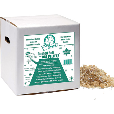Bare Ground Coated Salt with Calcium Chloride Pellets — 40 Lbs., Model# BGCACA-40