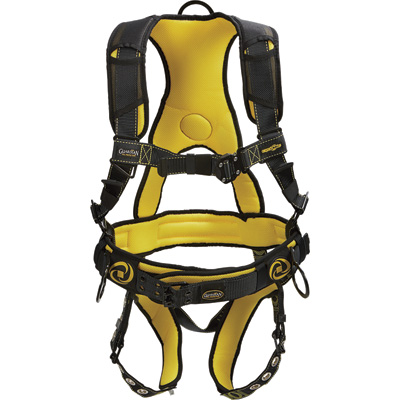 Guardian Fall Protection Cyclone Construction Harness — Size M & L, Model# 21030NT