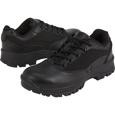 Ridge Men's Footwear Oxford Duty Work Shoes - Black, Size 8, Model# 5101