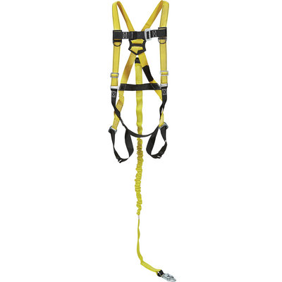 Qualcraft Guardian Fall Protection Contractor Kit — High-Visibility Yellow/Black