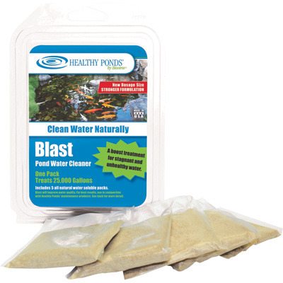 Natural Blast Water Treatment — 5-Pk., Treats Up To 125,000 Total Gallons, Model# 50010