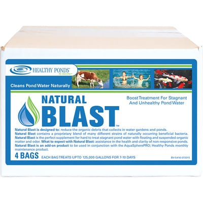 Natural Blast Water Treatment — 4-Pk., Treats Up To 500,000 Total Gallons, Model# 51131