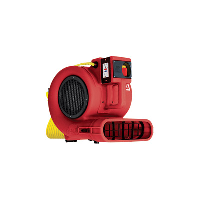 B-Air Grizzly Air Mover / Floor & Carpet Dryer - 1/3 HP, Safety Certified, Model# GP-33-ETL Red