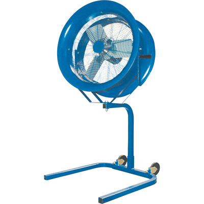 Patterson Portable High-Velocity Fan — 22in. Dia., 1/2 HP, Model# H22A + PS BLUE