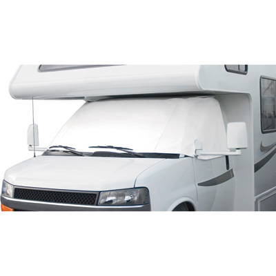 Classic Accessories RV Windshield Cover — White, For Ford 2004–Current, Model# 78634