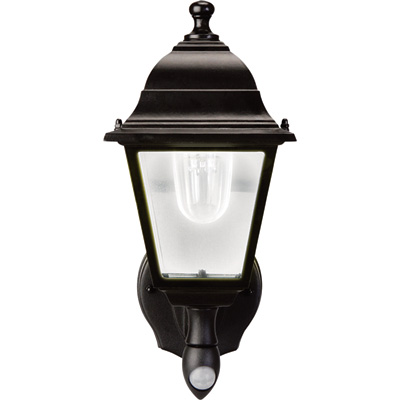 Maxsa Motion-Activated LED Outdoor Wall Sconce — 85 Lumens, Battery Powered, Model# 44219