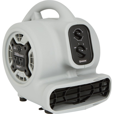 Strongway Blower with Timer, 3-Speed — 7in. Dia., 800 CFM, 1/5 HP, 115 Volts