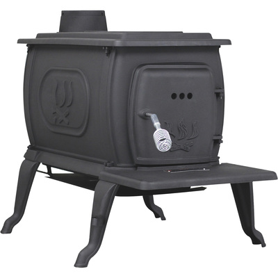 Ashley Cast Iron Deluxe Logwood Stove — 94,000 BTU, EPA Certified, Model# 2469E