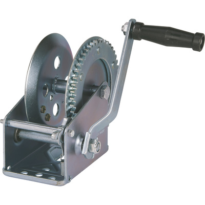 Ultra-Tow Single Speed Hand Winch — 1600-Lb. Load Capacity