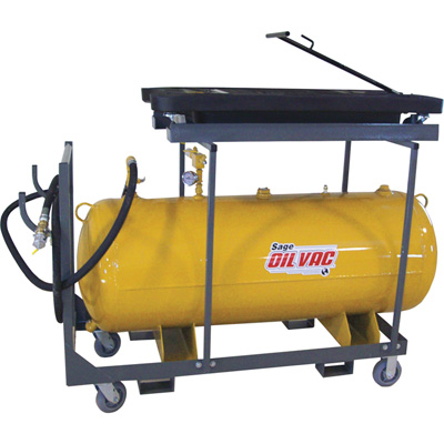 Sage Oil Vac Fluid Recovery System — 120-Gal. Tank, Model# 30120V