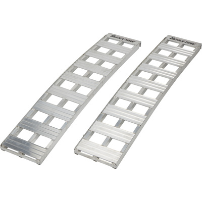 Ultra-Tow Non-Folding Arched Aluminum Loading Ramp Set — 2500-Lb. Capacity, 5Ft.L
