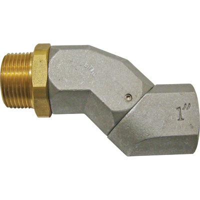 GPI Multi-Plane Hose Swivel — 1in. FNPT and MNPT Connections, Model# 150400-04