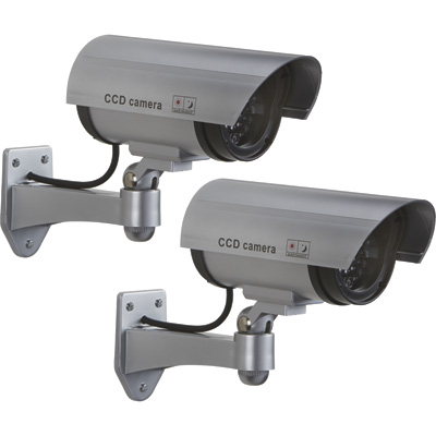 Ironton Battery Operated Simulated Surveillance Cameras — Traditional-Style, 2-Pk.