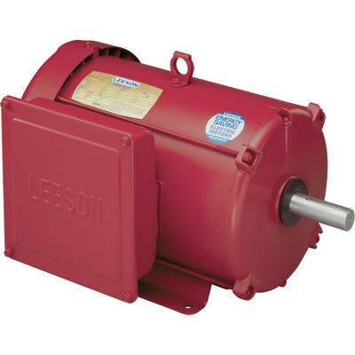 Leeson Farm Duty Electric Motor 10.0 HP, 1,740 RPM, 230 Volts, Single Phase, Model# 140414.00