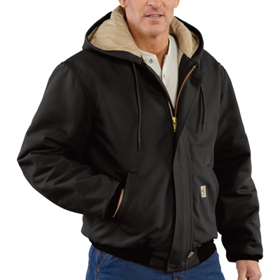 Carhartt Men's Flame-Resistant Midweight Canvas Dearborn Jacket - Brown, 3XL/Big Style, Model# 101624