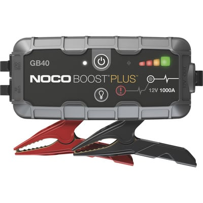Noco Genius BoostPlus Compact Lithium-Ion Jump Starter — 1000 Amps, Model# GB40