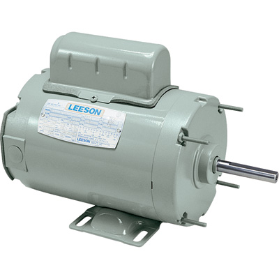 Leeson Farm Duty Electric Motor 1/2 HP, 1,625 RPM, 115/230 Volts, Single Phase, Model# A4P17NB9