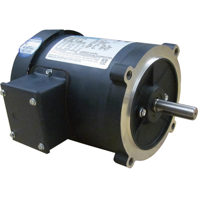 Leeson General Purpose Electric Motor 1/3 HP, 208 230/460 Volts, 3 Phase, Model# C4T17FC10