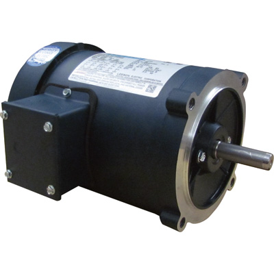 Leeson General Purpose Electric Motor 1/2 HP, 1,725 RPM, 208 230/460 Volts, 3 Phase, Model# C4T17FC40