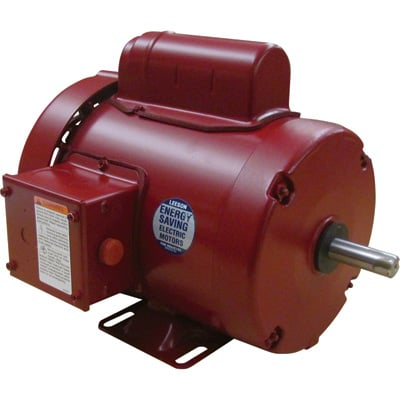 Leeson Farm Duty Electric Motor 1/2 HP, 1,725 RPM, 115/208 230 Volts, Single Phase, Model# M6C17FB11