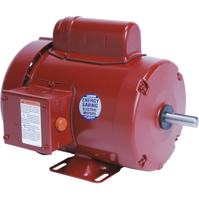 Leeson Farm Duty Electric Motor 3/4 HP, 1,725 RPM, 115/208 230 Volts, Single Phase, Model# M6C17FB9