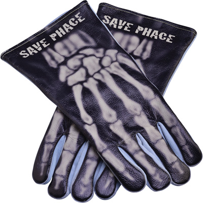 Save Phace Welding Gloves — Large, Bones Graphic Pattern, Model# 3012343