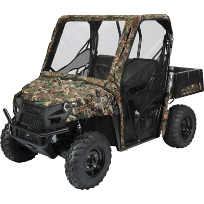 Classic Accessories Polaris Ranger UTV Cab Enclosure, Camo — Fits Cabs with 194in. Total Circumference
