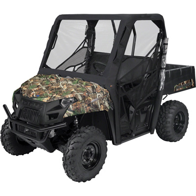 Classic Accessories Yamaha UTV Cab Enclosure, Black — Fits Cabs with 185in. Total Circumfernce