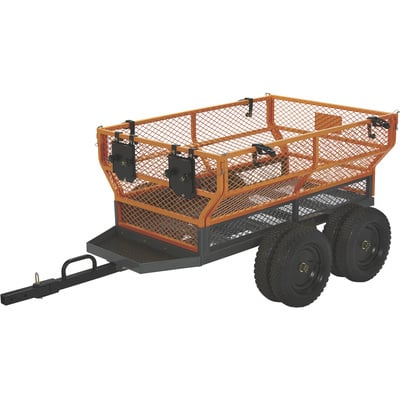 FREE SHIPPING — Bannon Utility Trailer — 1,600-Lb. Capacity, 24 Cu. Ft.