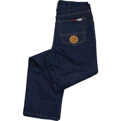 Walls Men's Fire-Resistant Stonewashed Jeans - 34in. Waist x 34in. Inseam, Relaxed Fit, Model# 55395SW9