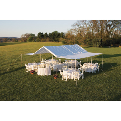 ShelterLogic Event Tent Extension Kit for Max AP 20ft.L x 10ft.W Canopy - Fits 55418 and 55420, Model# 25730
