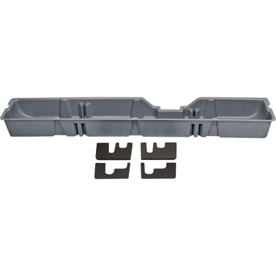 DU-HA Truck Storage System — Ford F-450 Super Duty Supercab, Fits 2011 - 2016 Models, Gray, Model# 20093