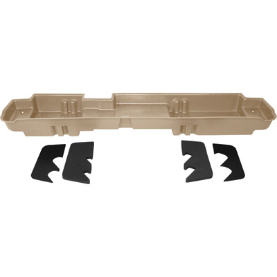 DU-HA Truck Storage System — Ford F-250 Super Duty Crew Cab, Fits 2008-2016 Models with 60/40 Bench Seat, Tan, Model# 20066