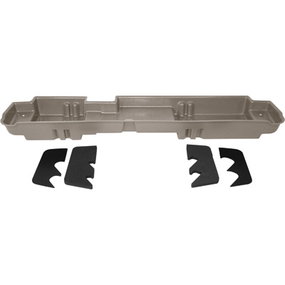 DU-HA Truck Storage System — Ford F-450 Super Duty Crew Cab, Fits 2003-2007 Models with 60/40 Bench Seat, Tan, Model# 20070