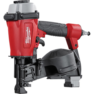 Milwaukee Air-Powered 1 3/4in. Coil Roofing Nailer, Model# 7220-20