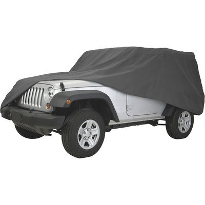 Classic Accessories OverDrive PolyPro 3 Heavy-Duty Truck/SUV Cover — Fits Jeep Wranglers up to 161in.L x 65in.W, Model# 10-020-251001-00