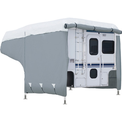 """Classic Accessories PolyPro III Deluxe Truck Camper Cover - Fits 10Ft. Camper, Model# 8003715310100"""