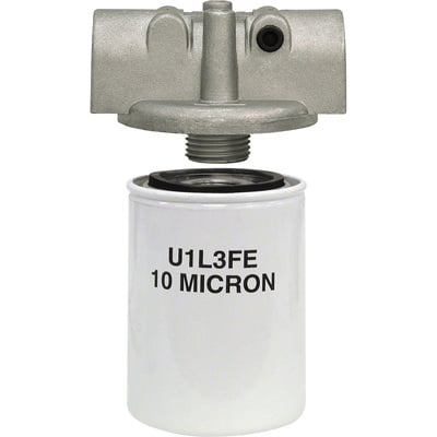 Buyers Hydraulic Return Filter Assembly — 15 GPM Return/5 GPM Suction, Up to 200 PSI, Model# HFA11025