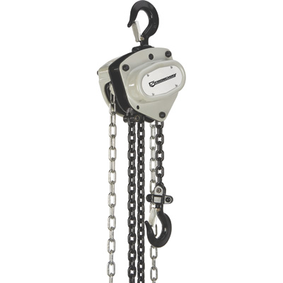 Strongway Manual Chain Hoist — 4400-Lb. Capacity, 20ft. Max. Lift
