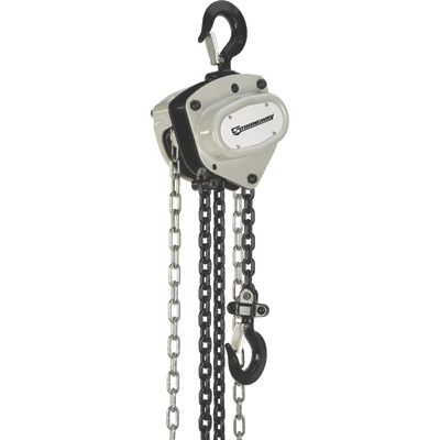 Strongway Manual Chain Hoist —11,000-Lb. Capacity, 10ft. Max. Lift