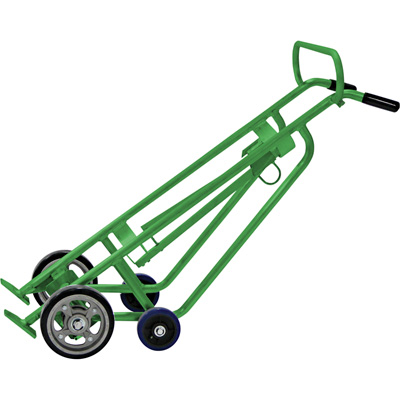Valley Craft EZY-Roll Aluminum Drum Truck — 1000-Lb. Capacity, 24in.L x 20 1/2in.W x 58 9/10in.H