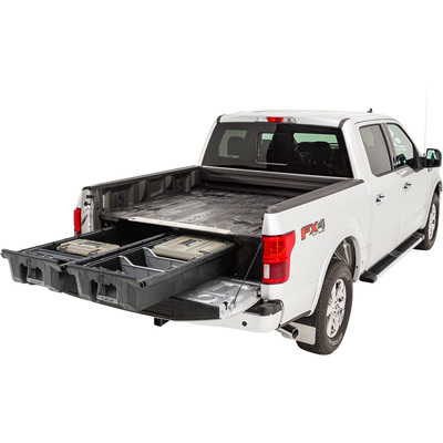 DECKED 2-Drawer Pickup Truck Bed Storage System — For Ford F-150 (2015–2018), 6ft.6in. Bed Length, Model# DF5