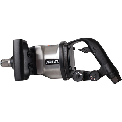 AIRCAT Low Weight Impact Wrench — 1in. Drive, 1,700 Ft.-Lbs. Torque, Model# 1891-1