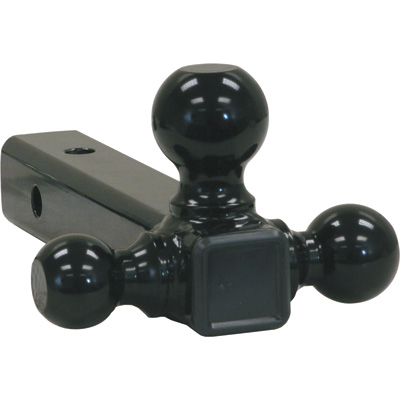 """Buyers Products Tri-Ball Hitch - Black Towing Balls, Model# 578104"""