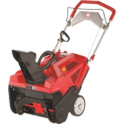 FREE SHIPPING — Troy-Bilt Squall 208E Single-Stage Electric-Start Snow Blower — 21in., 208cc Engine, Model# 31AS2T7B766